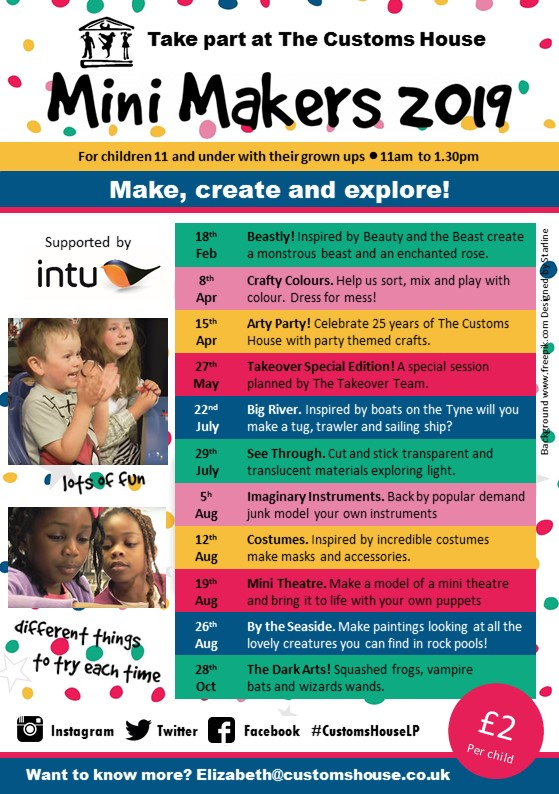 Mini Makers 2019 supported by INTU