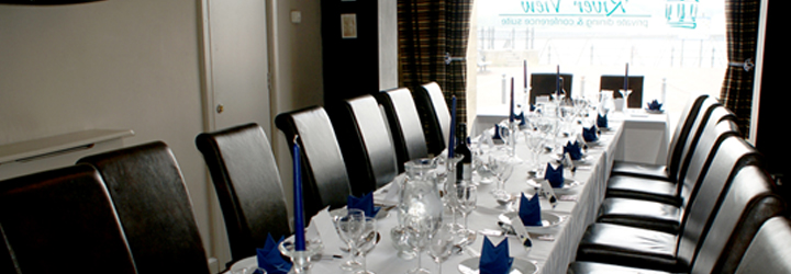 Private Dining in the Riverview