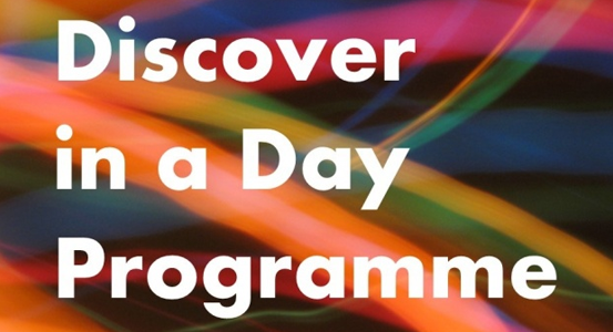 Discover In a Day Announcement