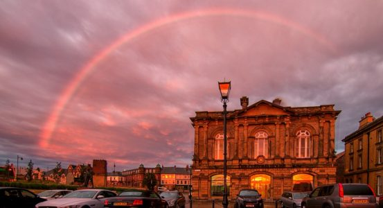 Photographer offers image for the launch of The Customs House new website.