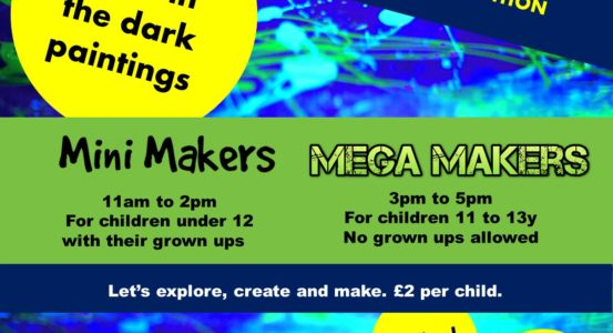 Bank Holiday Monday Takeover Festival Special Edition Mini Maker and Mega Makers!