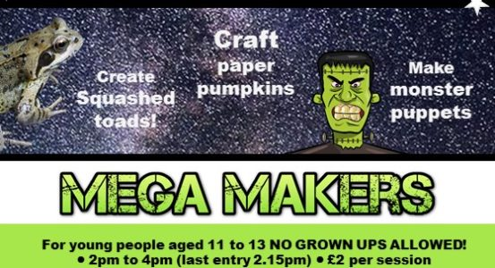 Have a Scarily Good Half Term with Mini and Mega Makers