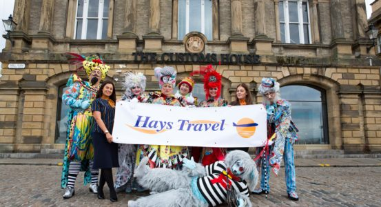 Hays Travel Help our Panto Take Flight