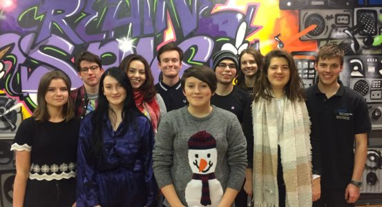 YOUNG ACTORS TAKE PART IN NATIONAL THEATRE PROJECT