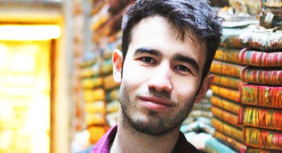 Reece Connolly chosen as the venue's first Takeover Young Writer in Residence