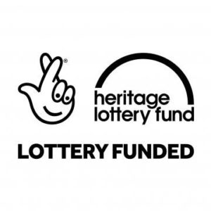 Heritage Lottery Fund Lottery Funded Logo