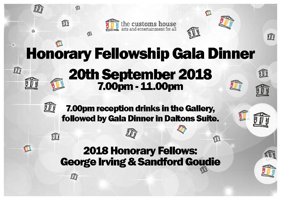 Tickets available for special Honorary Fellowship Gala Dinner