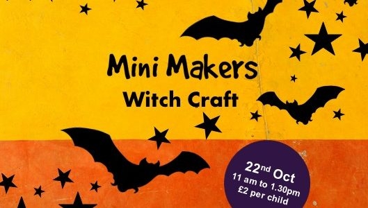 Get Creative in the School Holidays with a Spooky Mini Makers