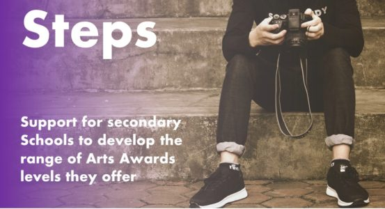 Arts Award Support for Secondary Schools
