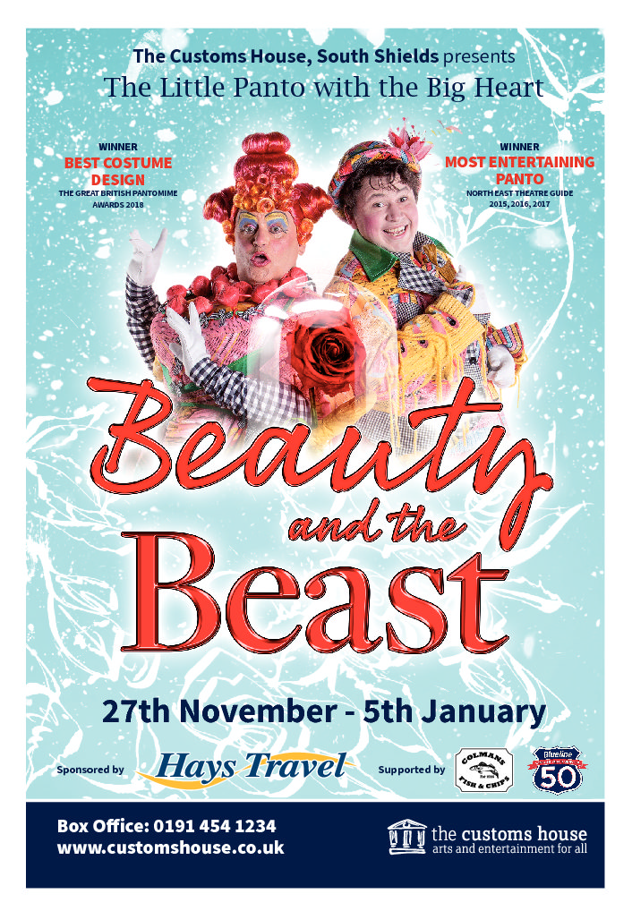 The Wait Is Over…Watch Our Brand New Beauty And The Beast Panto Advert