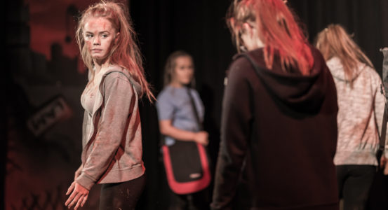 The Customs House Youth Theatre @ Jarrow School's First Performance