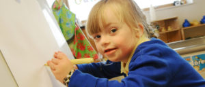 Young Artist from Prioiry Woods Drawing (Photo from School's website)