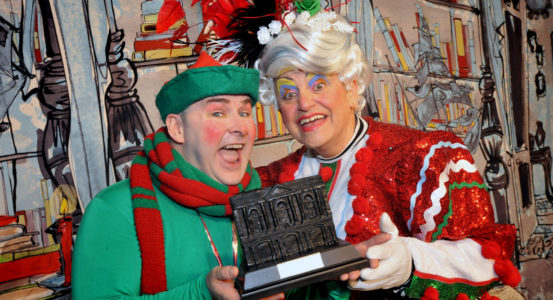 Special Award Marks Santa's Naughty Elf's 10-year Milestone and Panto Day