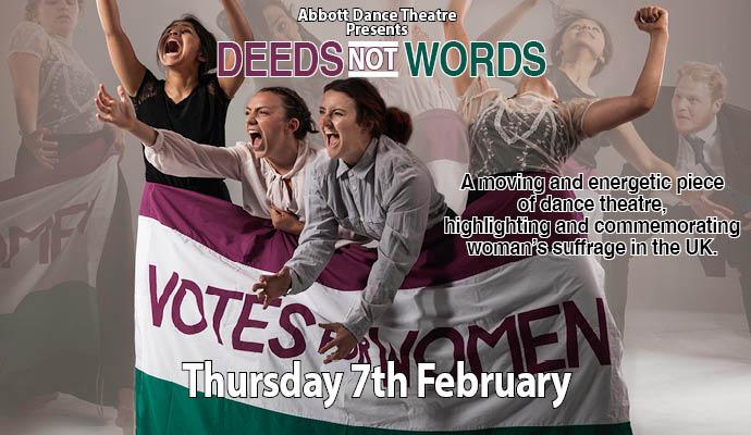 Abbott Dance Theatre Presents Deeds Not Words Image