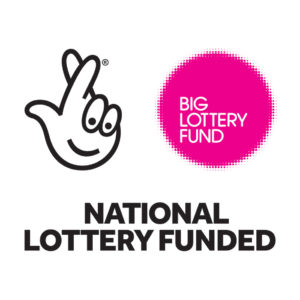 National Lottery Funded - Big Lottery Awards for All Logo