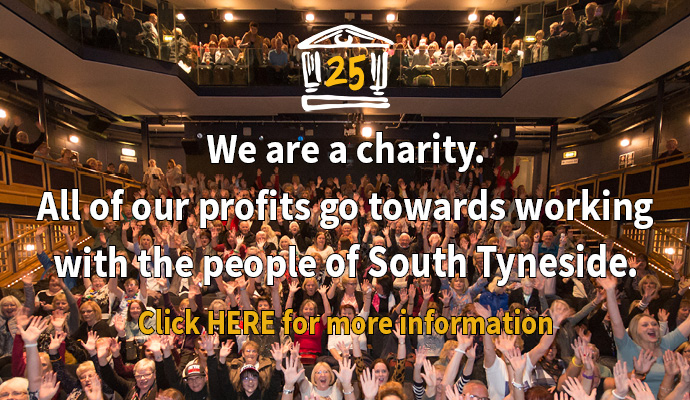 We are a charity Image