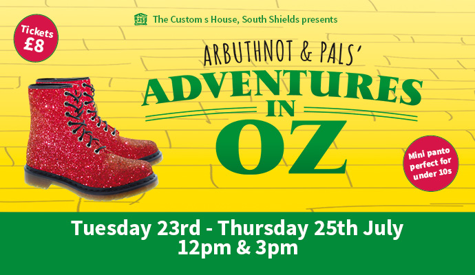 Arbuthnot and Pals Adventures in Oz Image