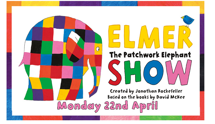 Elmer - Everyone's favourite patchwork elephant Image