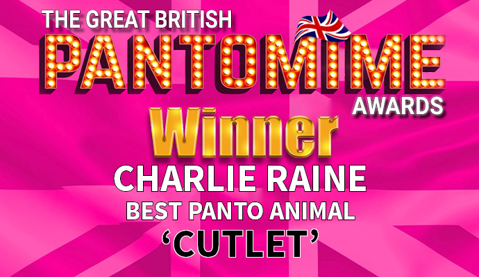 Award winner Charlie Raine Image