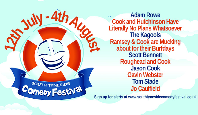 The South Tyneside Comedy Festival Is Back Image