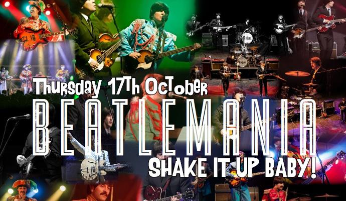 Beatlemania Thursday 17th October Image