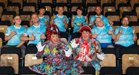 Panto stars get ready for The Great North Run