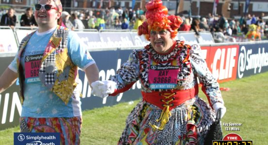 PANTO STARS GO THE DISTANCE IN THE GREAT NORTH RUN – OH YES THEY DID!