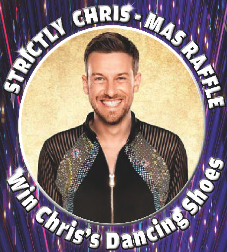 STRICTLY STAR KICKS OFF HIS DANCING SHOES…