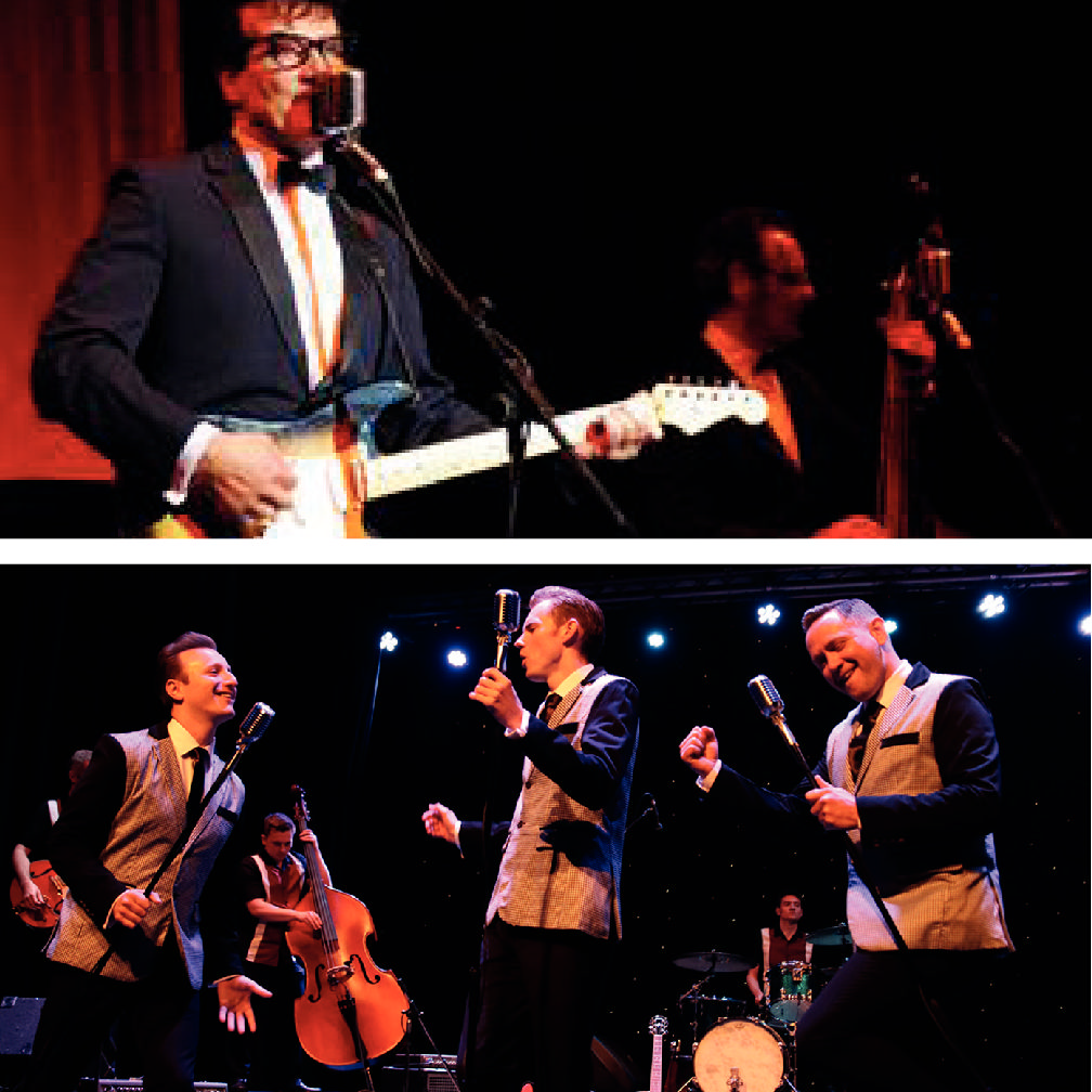 TRIBUTE SHOWS BRING THE ROCK 'N' ROLL YEARS BACK TO LIFE