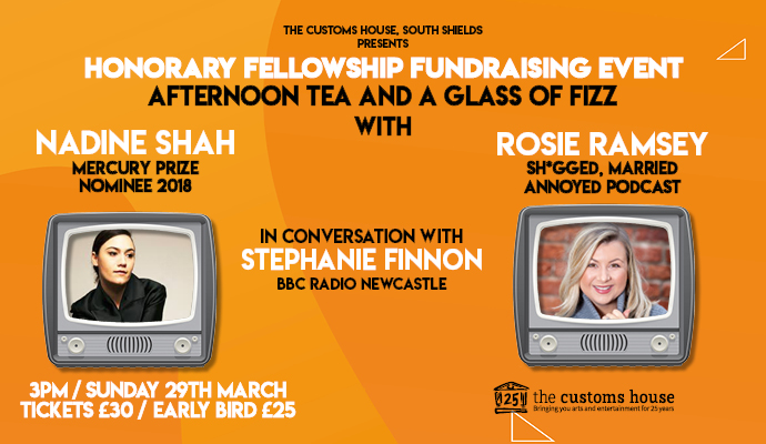 Join Us For Afternoon Tea and a Glass of Fizz with Nadine Shah and Rosie Ramsey Image