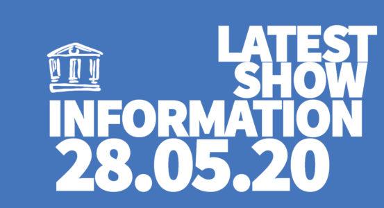 Latest Show Info: 280520