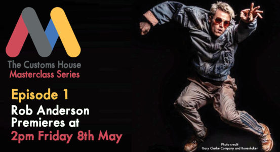 Masterclass Series: Episode 1 launches at 2pm Friday 8th May