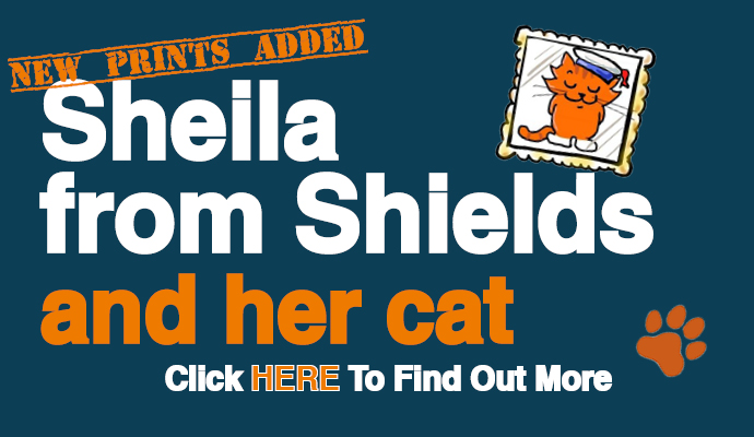 Sheila From Shields And Her Cat Image