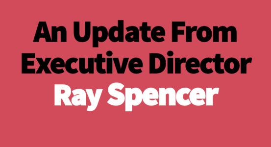 An Important Update From Ray Spencer